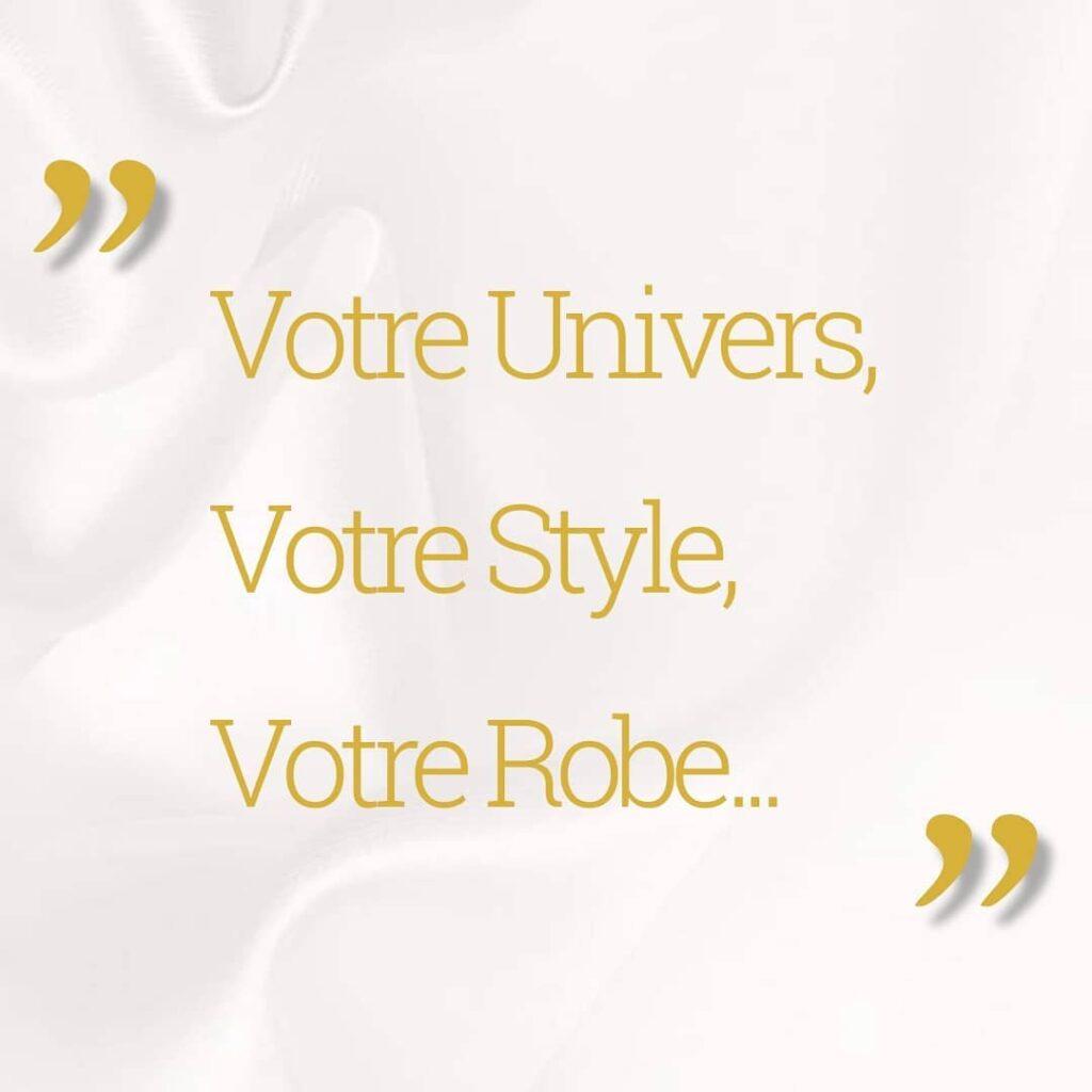 James & ViviAnn du Fermoir-de-Monsac - Votre Univers, Votre Style, Votre Robe...